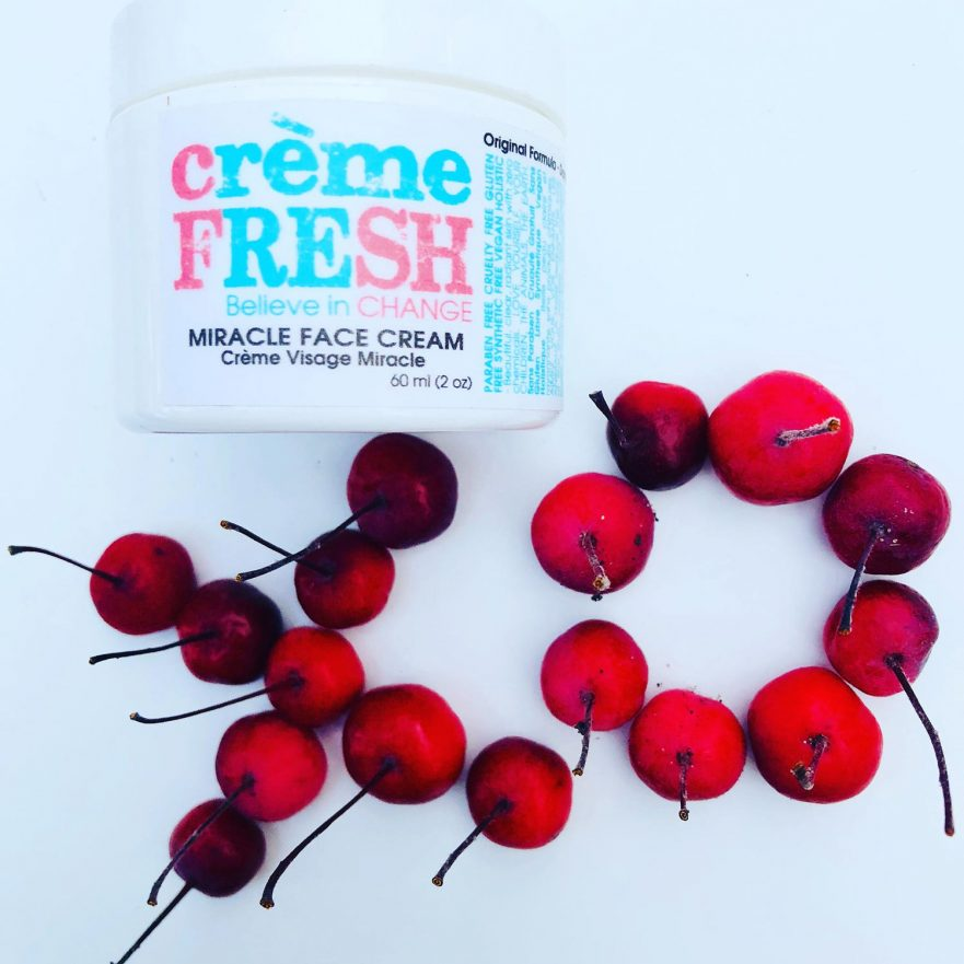 cremeFRESH wants to be ON YOUR FACE